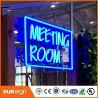 Design your own Custom LED Neon letter BEER&WINE Light Sign Bar open decor shop crafts