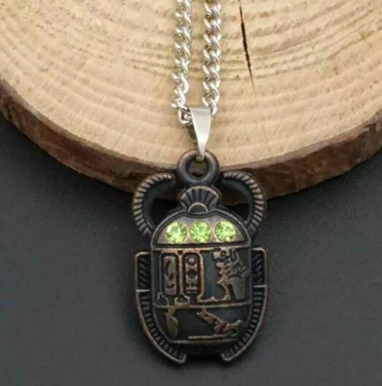 Mixed style Egyptian Scarab Beetle Necklaces Pendant Necklace Chain Woman Mens Charms Jewelry