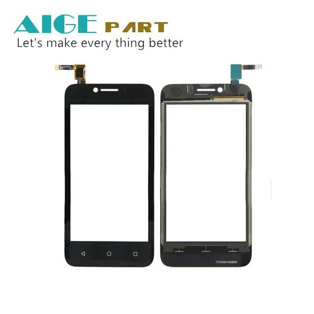 1 ШТ. Черный Сенсорного Экрана Digitizer Для Huawei Y560 дигитайзер сенсорный экран