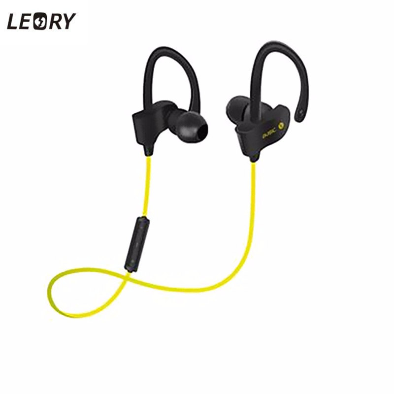 LEORY New Stylish Bluetooth Headphone Sport Wireless Stereo Headset With Mic Earphones Earbuds For Samsung For iPhone цены