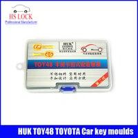100% Original HUK TOY48 car key moulding for key moulds Car Key Profile Modeling locksmith tools