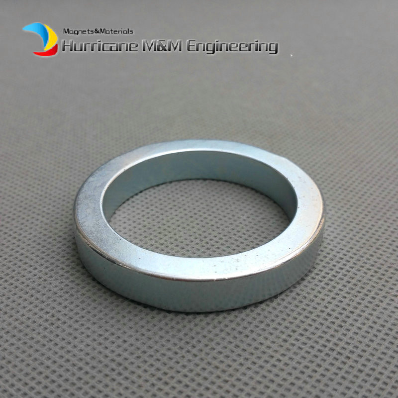 1 Pack NdFeB Magnet Ring OD 50x38x8 mm Diameter 2'' Round Strong Magnets Axially Magnetized NiCuNi Coated Rare Earth Magnet 1 pack diametrically ndfeb magnet ring diameter 9 53x3 18x3 18 mm 3 8 1 8 1 8 tube magnetized neodymium permanent magnets