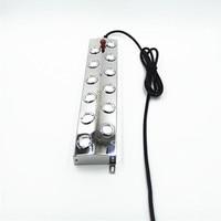 3 pçs/lote 12 Cabeça Umidificador Elétrico DC 48 V Atomizador Fogger Névoa Criador Umidificador de Alta Qualidade peças|Peças p/ umidificador| |  -