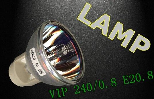 Original Replacement Bare Bulb OSRAM P-VIP 240/0.8 E20.8 LAMP