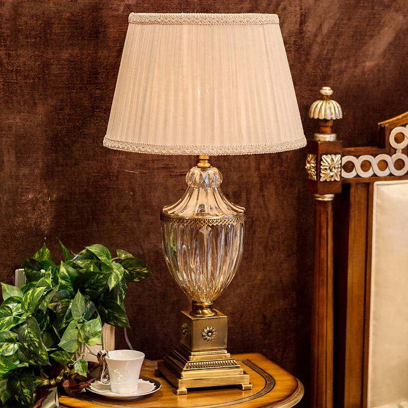 Lights & Lighting Led Table Lamps Bedroom Table Lamp Fabric Lampshade Living Room Decoration Abajur Table Lamp For Bedroom Lamparas De Mesa Modern Bedside Lamp