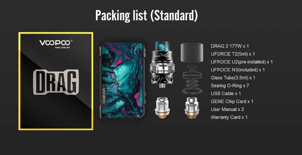 Voopoo Drag 2 177W TC Kit-16