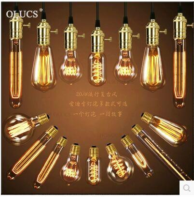 1pcs Led G80 4W 6W 8W Filament Lamp Warm white E27 B22 E26 Retro Edison Light Bulb for Home Dining Romm Bar AC 110V 220V lampada