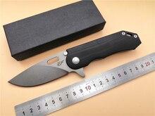 Карманный складной Ножи eafengrow EF30 D2 лезвие G10 ручка шариковых подшипников Флиппер EDC Складной Открытый Отдых Ножи инструменты