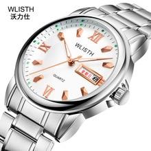 personality waterproof watch Fashion ultra-thin steel belt quartz simple business luminous trend 0020