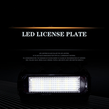 For Volkswagen Golf GOLF4 567 Generation GTI Polo taillight Decoding led license Lamp Assembly hama h 51173