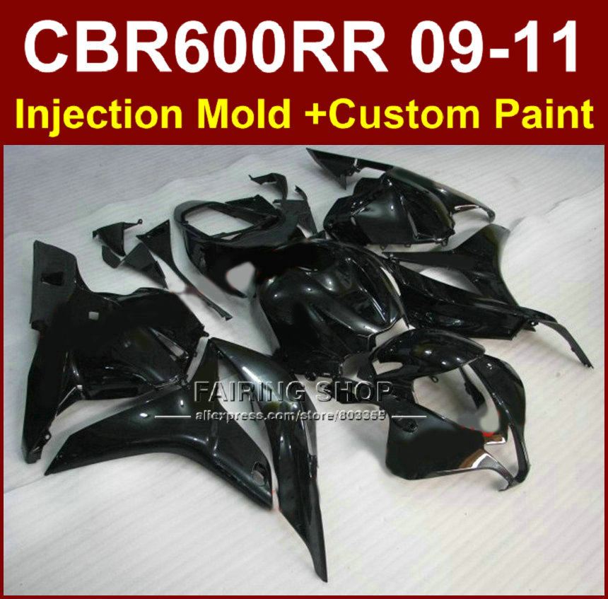 Flat Black Motorcycle Fairings For Honda Cbr600rr Fairing
