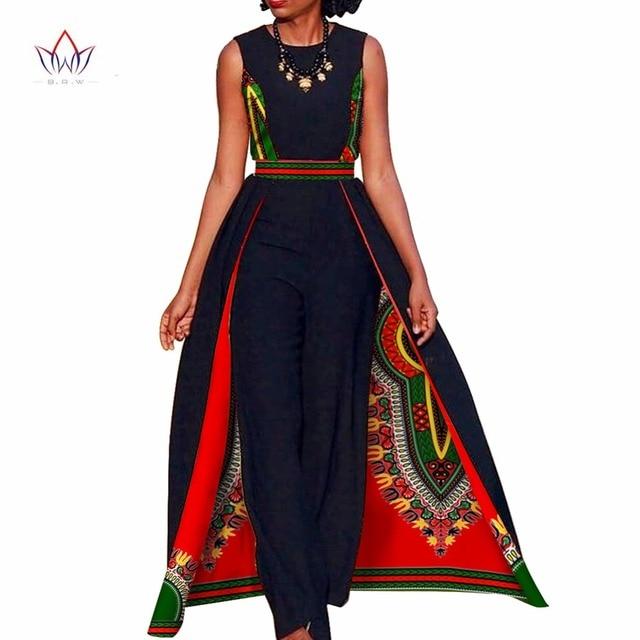 african design bazin summer elegant womens rompers jumpsuit