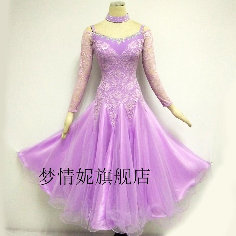 Customize New Ballroom Dance Dress Standard Ballroom Waltz Dresses Ballroom Dance Competition Dresses Custom Made LXT510