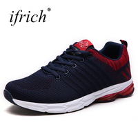 New Mens Sports Shoes Cheap Big Size Walking Sneakers Mesh Running Shoes Men Green Black Athletic