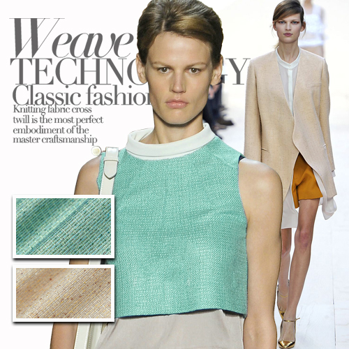 fabric world Green light lightmindedness beige silk jacquard fashion fabric