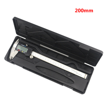 Big discount Digital 200mm Vernier Caliper 8 inch Electronic Stainless Steel Caliper 0.01mm Ruller Measuring Tools Micrometer
