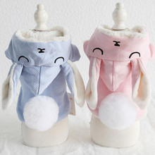Rabbit Pet Dog Clothes Winter Warm Coats Jackets Cat Dog Down & Parkas Clothing