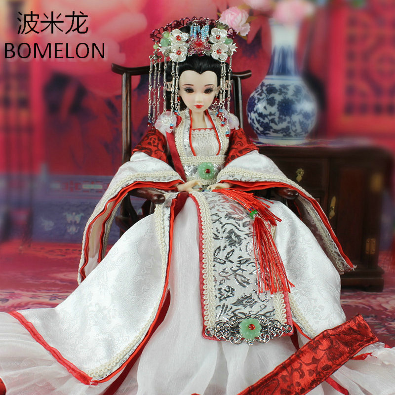 Tang Dynasty Beauty Princess Sheng-Ping High-end Handmade Chinese Ancient Costume Jointed Doll Articulated Kids Toys Girls Gift pixlink ac1200 wifi repeater router access point wireless 1200mbps range extender wifi signal amplifier 4external antennas ac05