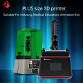 Kelant 3D Fóton Resina SLA Impressoras laser PLUS UV Luz de Cura-3.5 ''Desktop impressora Impresora 405nm DLP 3d kit diy impressora