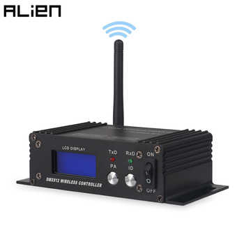 ALIEN 2.4G Wireless DMX 512 Controller Receiver Transmitter LCD Display Power Adjustable For Disco DJ Party Moving Head Light - DISCOUNT ITEM  30% OFF All Category