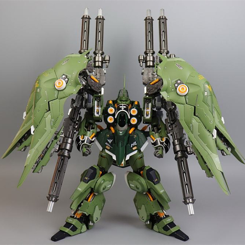 MC GATLING GUNS Expansion Backpack Finished Model For MC MB MG 1/100 NZ-666 KSHATRIYA Gundam