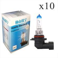 цены на SOTITIO 9006/HB4 12V 55W 5000K Head lamps Car lamps fog lamps design car light source Super Bright White Light Bulbs (10Pcs)  в интернет-магазинах