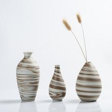 Novelty small vase crafts Creative Ceramic Vases Mini flower centros de mesa para boda home decoration accessories