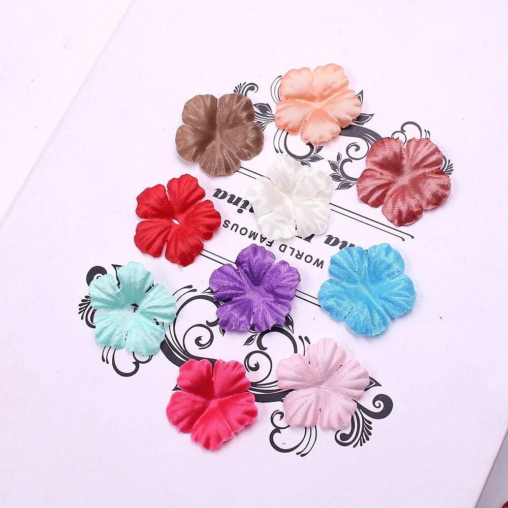 100pcs Star Roses Petal Silk Artificial Leaf For Wedding Home Decoration DIY Scrapbooking Flowers Accessories Plant Ornaments