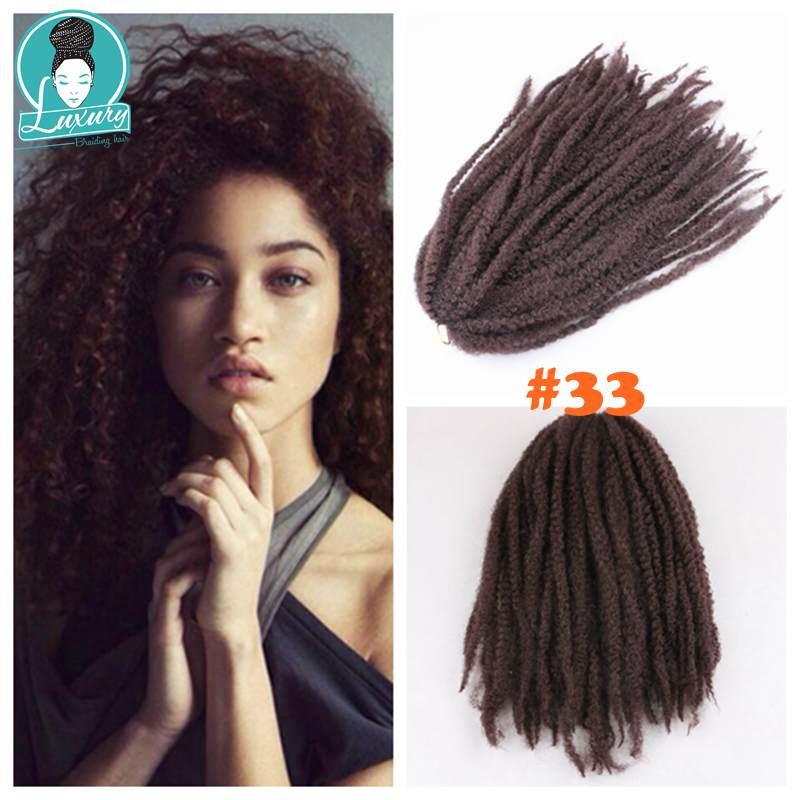 afro kinky curly marley braids35