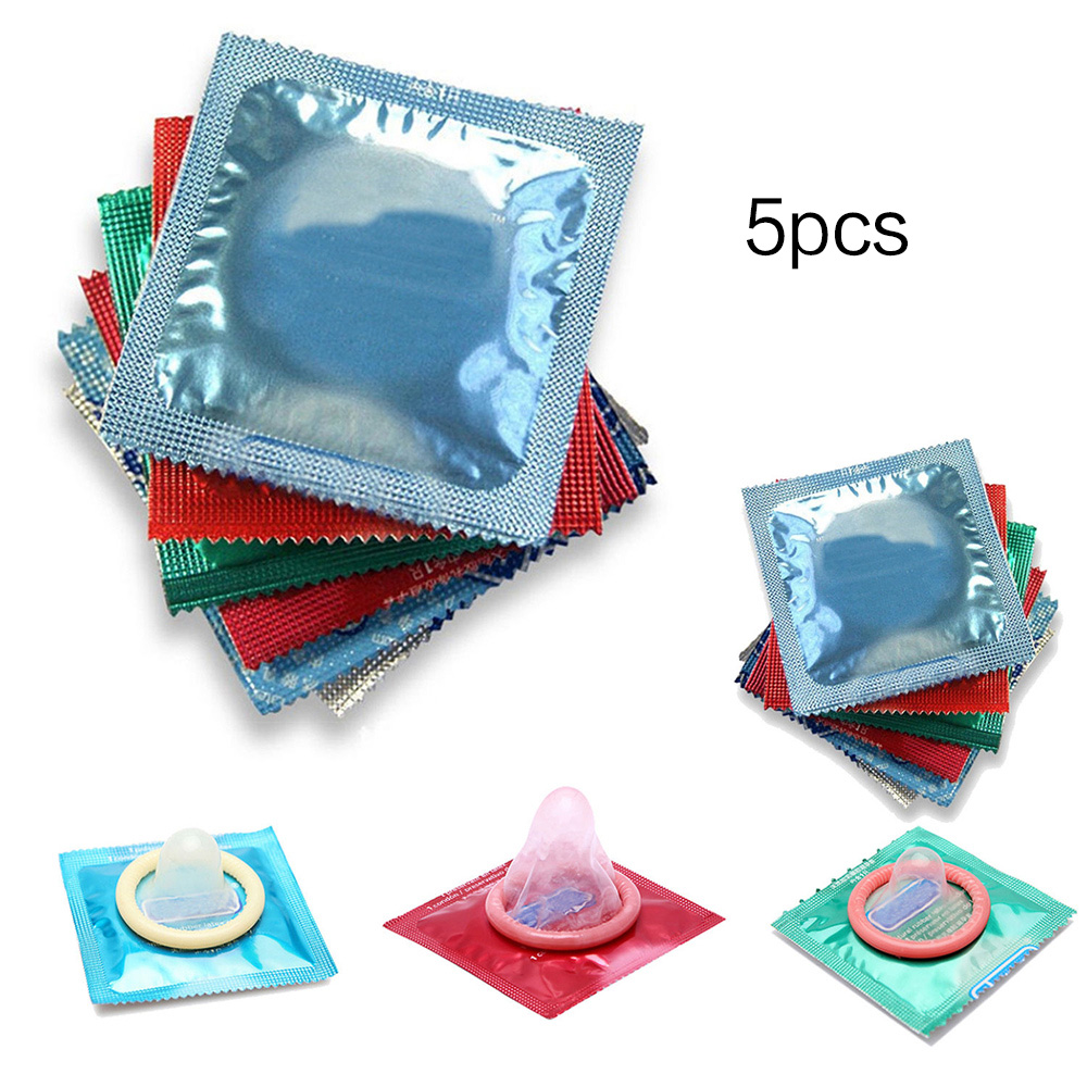 Buy Huntgold 1 Set (5pcs/10pcs)Sex Product Safe Condoms Contex Condoms Men Sealed Package Random