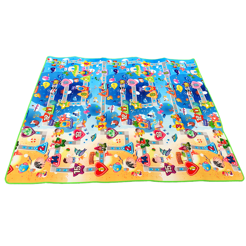 HTB1BGoga.GF3KVjSZFvq6z nXXa6 Double Side Baby Play Mat 0.5cm Eva Foam Developing Mat for Children's Rug Carpet Kids Toys Gym Game Crawling Gym Playmat Gift