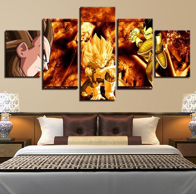 Super Vegeta Animation Wall Art Pictures