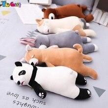 Soft Baby Pillow Sets Stuffed Animal Plush Toys Bear Panda Dog Cat Plush Dolls Bedding Pillows Girlfriend Gifts цена и фото
