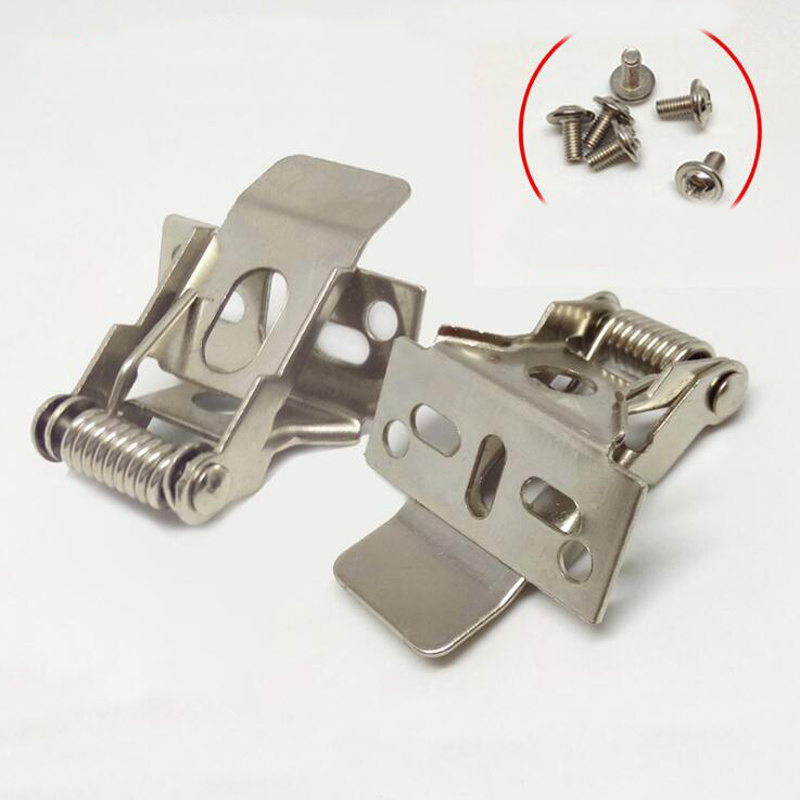Led Lighting Fittings Spring Buckle Panel Lamp Fastener Concealed Installation Clip 500pcs In Clamps From Home Improvement On Aliexpress Com