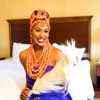 4 UJewelry Edo Свадебный комплект ювелирных изделий 4 слоя оранжевый/красный/белый цвет доступны 100 Genunie Африканский женский свадебный комплект юв