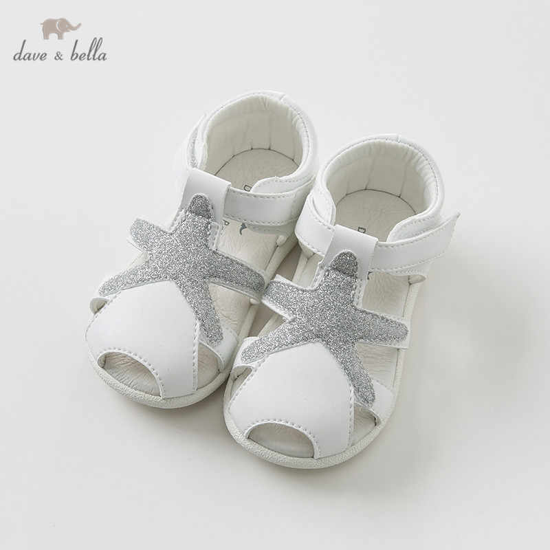8d507771e8e Detail Feedback Questions about Dave Bella summer baby girl sandals new  born prewalkers infant shoes girl white sandals Princesss shoes DB9711 on  ...
