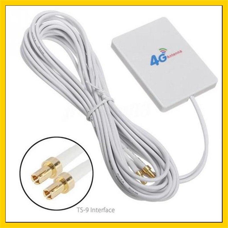 2Pcs 4G LTE Antenna Booster TS9 Connector 5dBi For HUAWEI E8372 E3372 E5776 S6