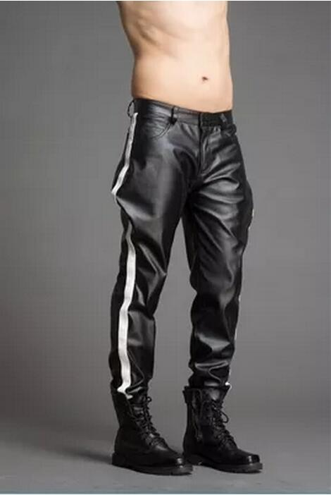 Pants Custom-Made Clothing Trousers Male Men's Plus-Size Fashion Breeches 28-38 Costumes