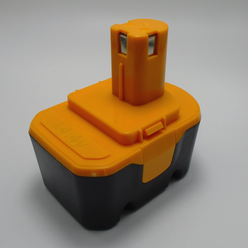 Batería recargable para taladro eléctrico, pila de 14,4 V y 3000mah, para RYOBI, CBI1442D, CDL1441P, CID1442P, FL1400, R10520