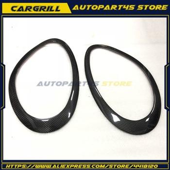 Carbon Fiber Eyebrows Eyelid Headlight for Porsche Boxter Cayman S 987 2005-2008