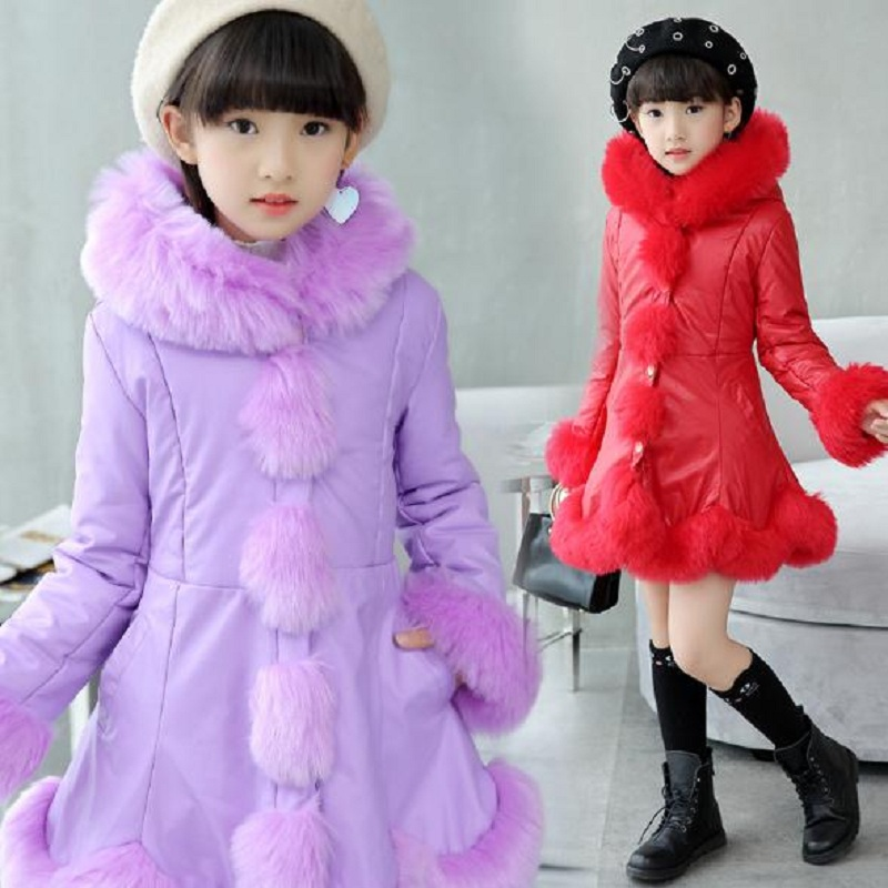 winter childrens down jacket baby  girl down jacket  kids outerwear girls parkas pu jacket fit for height 110cm to 160cm 1022winter childrens down jacket baby  girl down jacket  kids outerwear girls parkas pu jacket fit for height 110cm to 160cm 1022