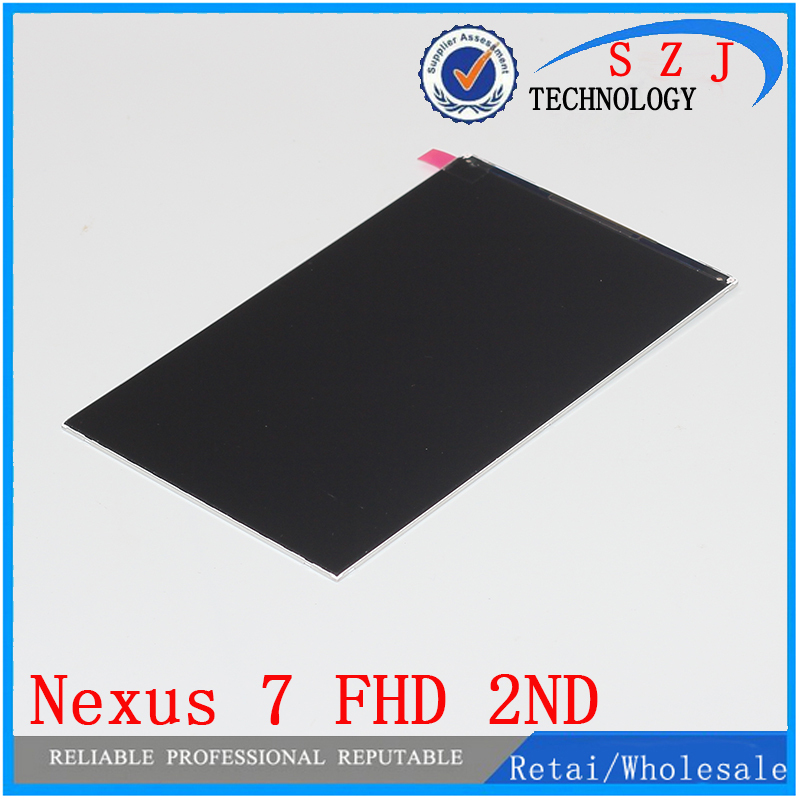 Original 7'' inch LCD Screen Display For ASUS Google Nexus 7 FHD 2013 2 II 2nd Gen Replacement Repair Part Free shipping original 7 inch for nexus 7 2nd gen 2013 lcd display touch screen digitizer assembly for asus google nexus 7 2nd free shipping
