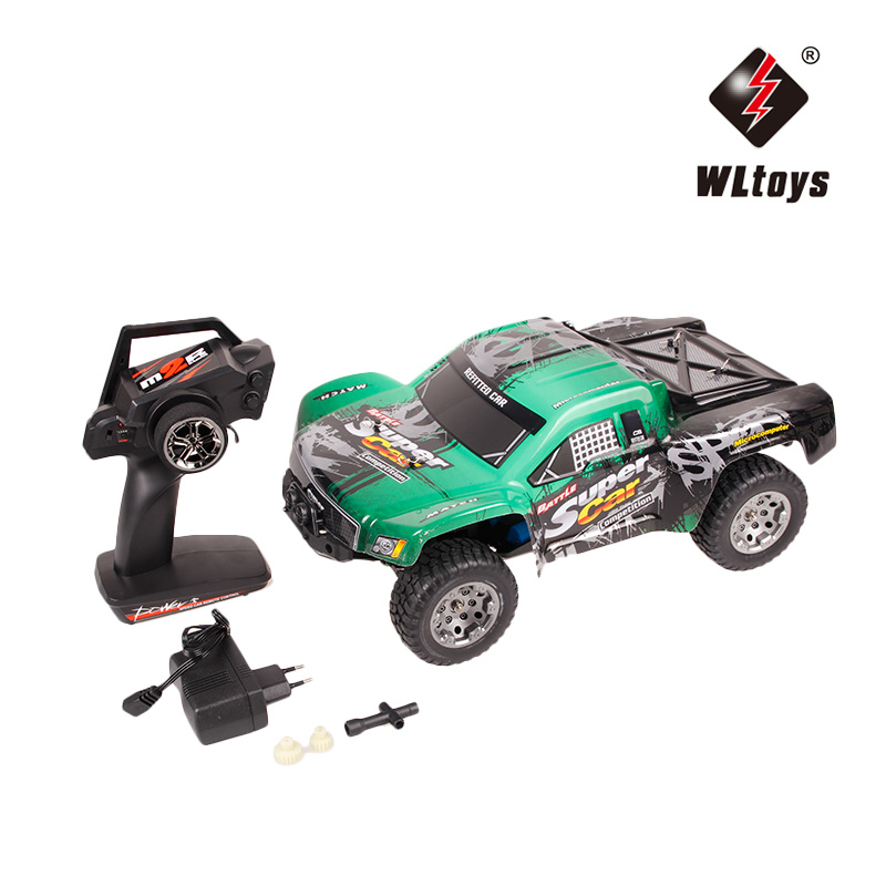 WLtoys 12403 RC Cars 1/12 4WD Remote Control Drift Off-road Rar High Speed Bigfoot car Short Truck Radio Control Racing Cars wltoys k969 1 28 2 4g 4wd electric rc car 30kmh rtr version high speed drift car