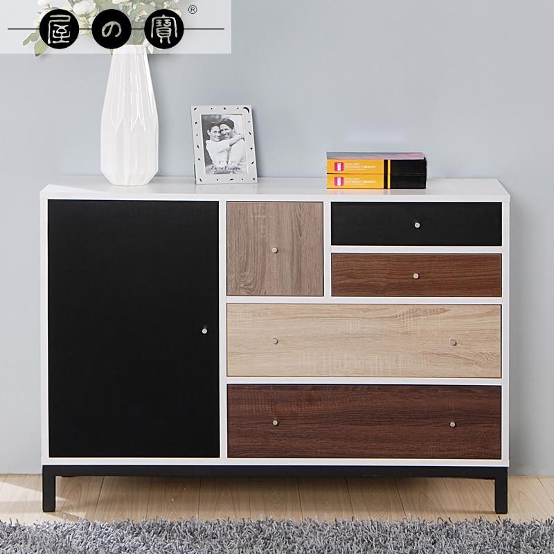 House treasure chest of drawers IKEA modern minimalist white bedroom ...