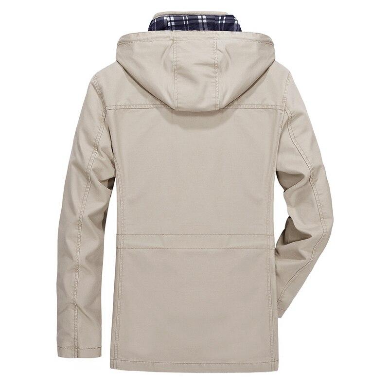 Detachable Jacket Hood Casual 9