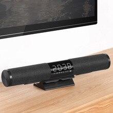 Newly Sound Bar Bluetooth 4.2 Wireless Stereo TV Speaker 3D SoundBar Home Theater Subwoofer