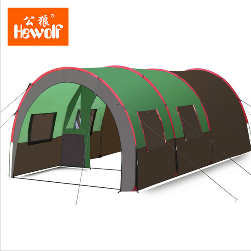 8-10 People Camping Tents Quick Installation 2 Room 1 Hall Waterproof Outdoor Family Picnic Grande Awning Tents Double Layer набор для кухни pasta grande 1126804