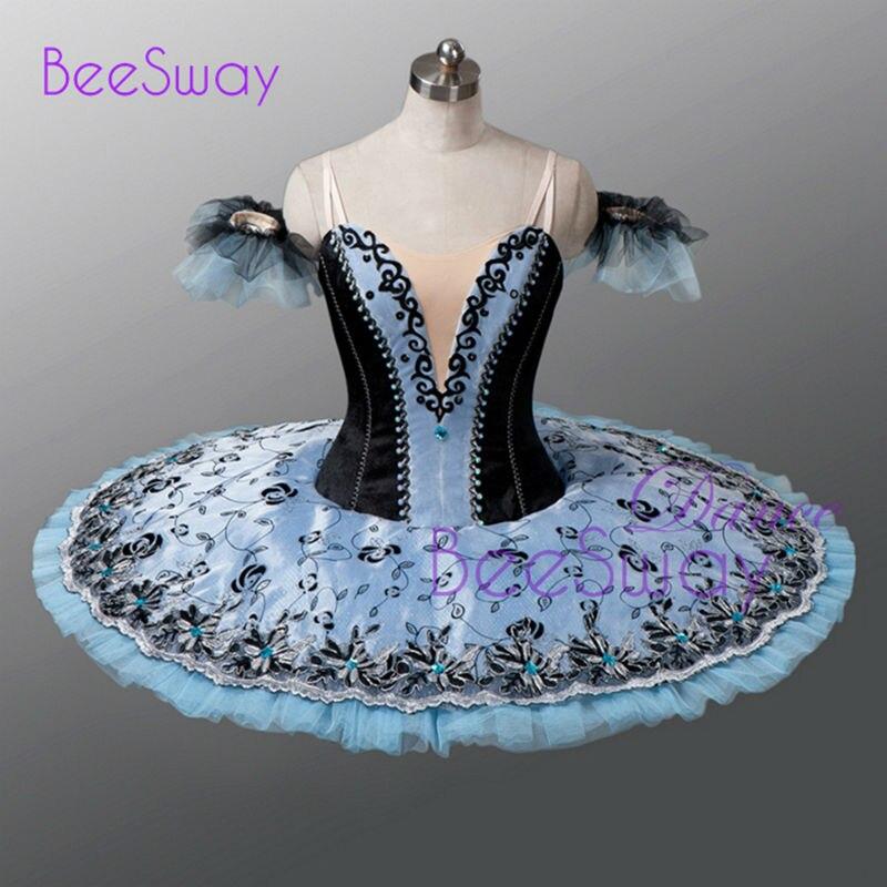 Ballet costume femmes professionnel Ballet Tutu adulte classique Ballet robe ballerine danse porter