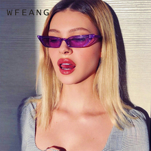 WFEANG Women Sunglasses Cat eye Eyewear Brand Designer Retro Sunglass Female Oculos de sol UV400 Sun glasses