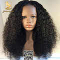 8A Mongolian Kinky Curly Lace Front Human Hair Wigs 150 Density Afro Kinky Curly Wig For Black Women Afro Curly Full Lace Wigs